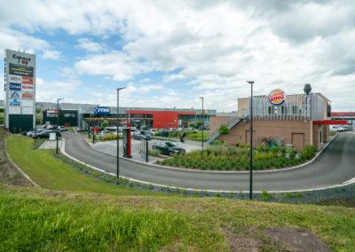 Surface mixte (entrepôt/commerce) à louer : Sambreville – Espace 98